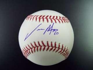 Jason Motte signed Baseball St Louis Cardinals OMLB