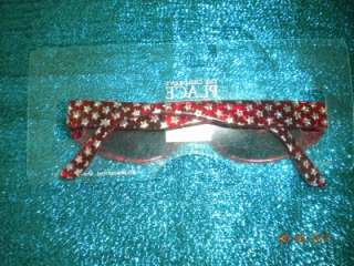Childrens Place Red Star Sunglasses ages 8 14 NIP