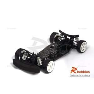4WD On Road Belt Drive Racing Car Carbon Fiber Chassis Toys & Games