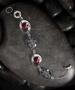 Dia De Los Muertos Memento Mori Charm Bracelet BR 30