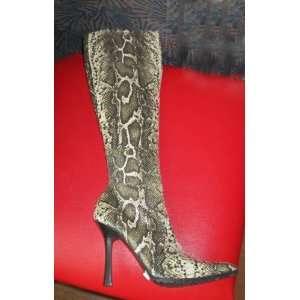 Victorias Secret Snakeskin Knee High Stretch Boots 7: Everything Else