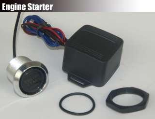 Universal Car Push Start Button Ignition Engine Start Starter Switch