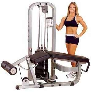 Leg Curl with 310lb Weight Stack:  Sports & Outdoors