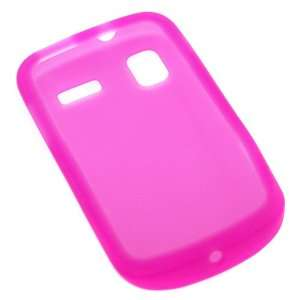 GTMax Hot Pink Silicone Skin Soft Cover Case for AT&T Samsung Focus