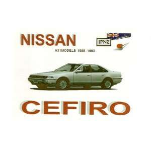 Nissan Cefiro 88 93 Owners Handbook (9781869760960): Books