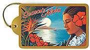 Hawaiian Holiday Vintage 8 Set GIFT TAGS Hawaii Cards