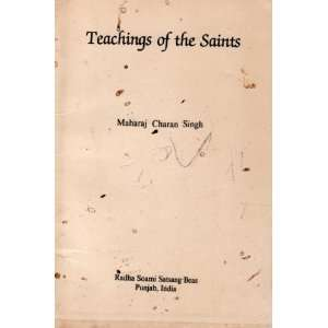 Teachings of the Saints: Charan Singh: Books