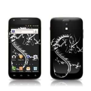 Chrome Dragon Design Protective Skin Decal Sticker for Samsung Galaxy
