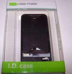 iphone 4 ID CASE HOLDER CREDIT CARD HARD case black