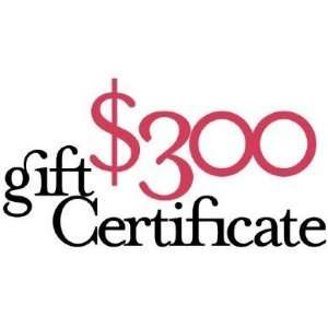 Harvest Essentials Gift Certificate   $300:  Kitchen