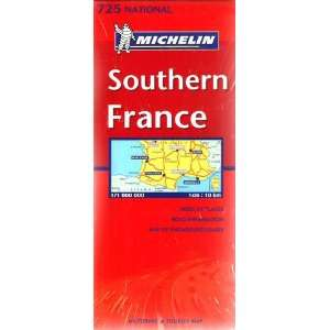 Michelin Southern France #725/ Michelin France Sud: Indes of Places
