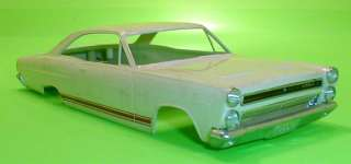 Mercury Comet Cyclone Slot Car Body From Unassembled Super Stock Kit