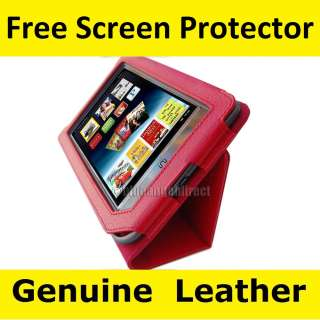 Nook Tablet Color Genuine Leather cover case w