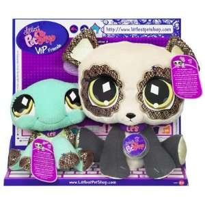 Littlest Pet Shop VIP BFF Panda and Turtle Toys & Games