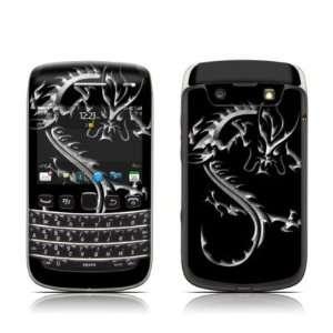 com Chrome Dragon Design Protective Skin Decal Sticker for BlackBerry