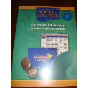 Houghton Mifflin Social Studies Lesson Planner and Teacher Resource