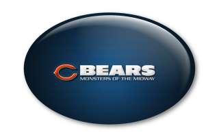 Chicago Bears Bottle Opener Fridge Magnet Tickets