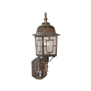 Outdoor Glass Globe Wall Light Fixture by American De Rosa Lamparts,Inc