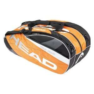 Head Tour Team Combi Tennis Bag (COLOR: Orange/Black/White