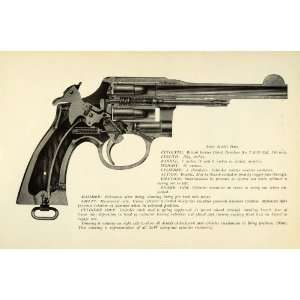 1948 Print .380 mm Smith Wesson British Service Pistol