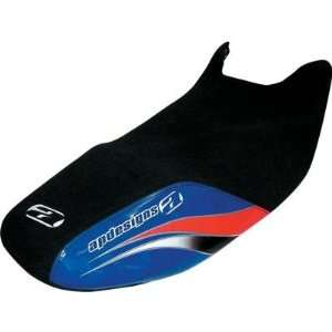AP Designs Seat Cover   Blue/Silver/Red 70 4031SS