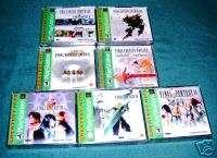 Final Fantasy VII VIII Tactics Chrono Trigger New Seal