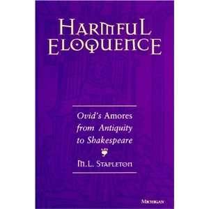 Antiquity to Shakespeare (9780472107070): Michael L. Stapleton: Books