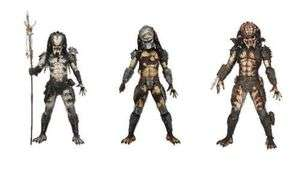 Series 4 Action Figures SET OF 3 Shaman, Boar + City Hunter