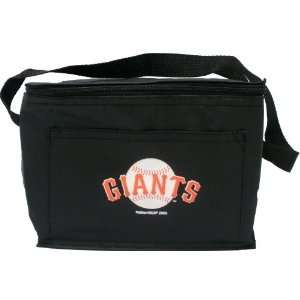 San Francisco Giants Insulated 6 Pack Cooler Lunch Bag Automotive