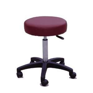 Sivan Health and Fitness Rolling Adjustable Stool for Massage Table