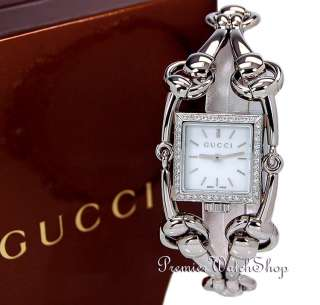 NEW GUCCI 116 SIGNORIA LADIES DIAMOND WATCH YA116513
