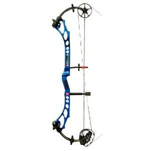 PSE Bow Madness XL Compound Bow Blue / Left Hand: Sports