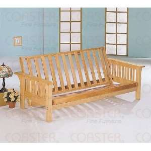 in Mission Style Oak Finish Sofa Bed (Frame Only) Furniture & Decor