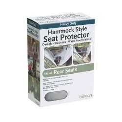 Bergan Hammock Style Rear Seat Protector Dog Pet Gray