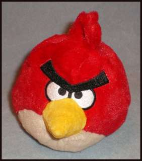 Commonwealth Angry Birds Plush Toy 5 Red Bird New
