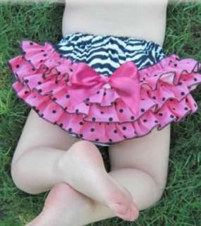 New Girl Baby Satin Ruffle Pants New Bloomers Nappy Cover Skirt Dress