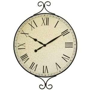 KasselTM Decorative Metal Framed Wall Clock with Quartz
