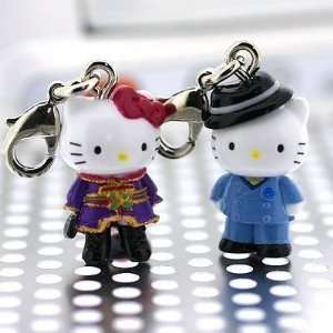 Sanrio Hello Kitty x Anime Paradise Kiss Pair Kitty Charms