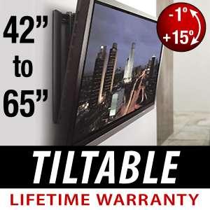 Screen Tilt Tiltable Wall Mount LCD LED PLASMA TV 42 46 50 52 60 65
