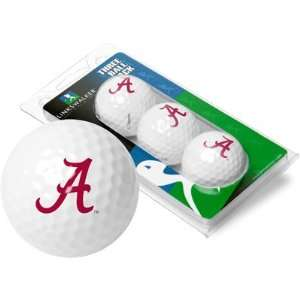 Alabama Crimson Tide 3 Golf Ball Sleeve