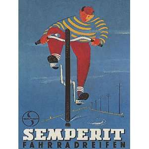 BOY RIDING SEMPERIT BICYCLE BIKE CYCLES SMALL VINTAGE