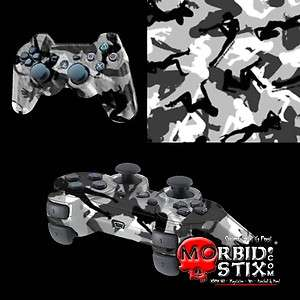 MorbidStix Custom PlayStation 3 Controller   Morning Wood Camo |