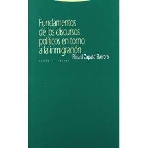 EN TORNO A LA INMIGRA (9788498790214): Ricard Zapata Barrero: Books