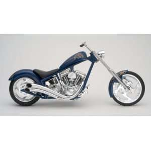 RM Kustom Aces Wild Custom Chopper Motorcycle (Plastic Toys & Games