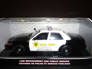 Motormax Ford Crown Victoria Police Interceptor 1/24