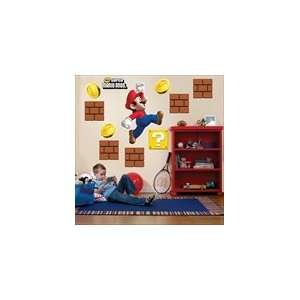 Super Mario Bros. Giant Wall Decals: Toys & Games