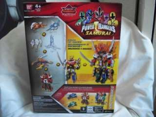 Sabans Power Rangers Samurai Bull Megazord New Sealed Zord w/extra