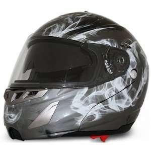 Dual Visor Full Face DOT Modular Motorcycle Helmet [XS] Automotive