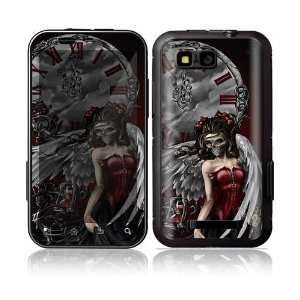Motorola Defy Decal Skin Sticker   Gothic Angel