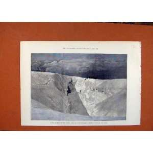 Fatal Accident Mont Blanc C1891 Illustrated London News